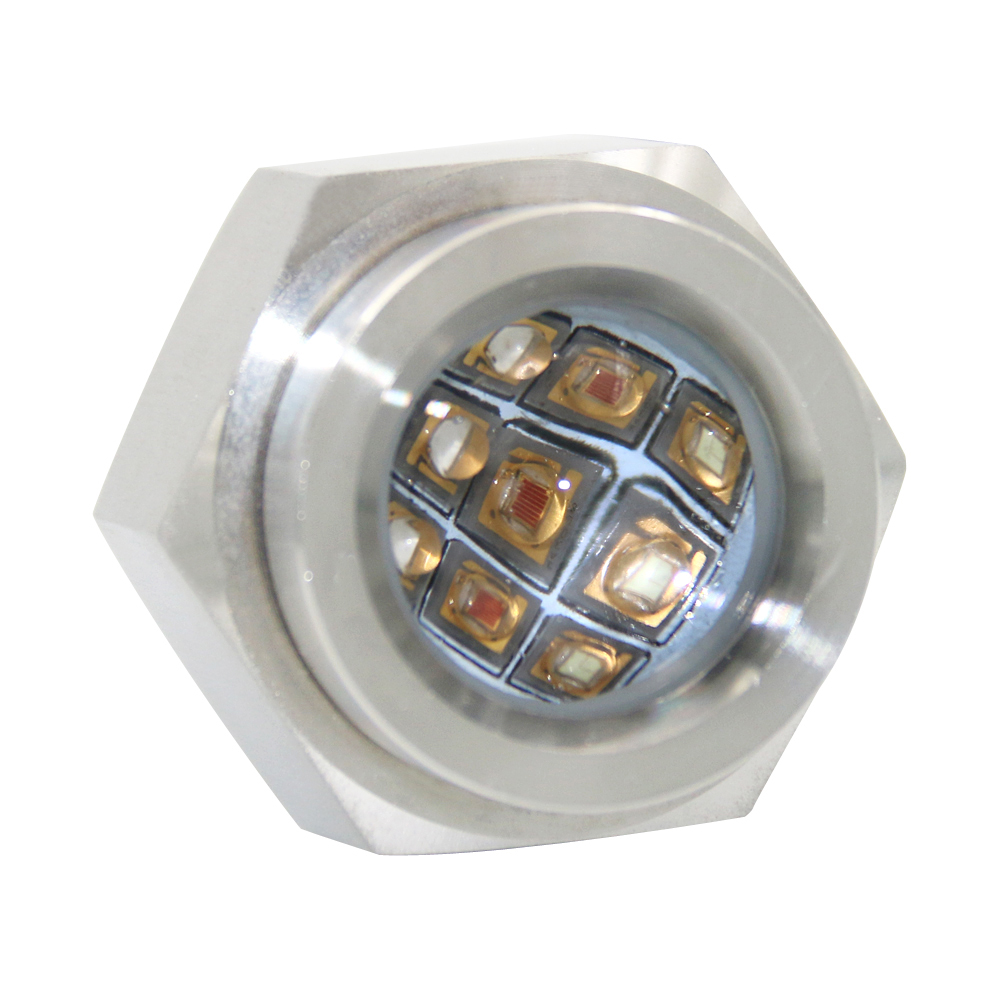 27W RGB Drain Plug Led Boat Light