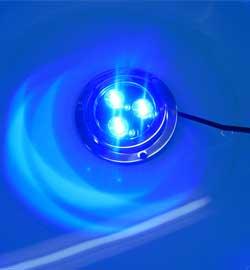 IP68 LED underwater boat light