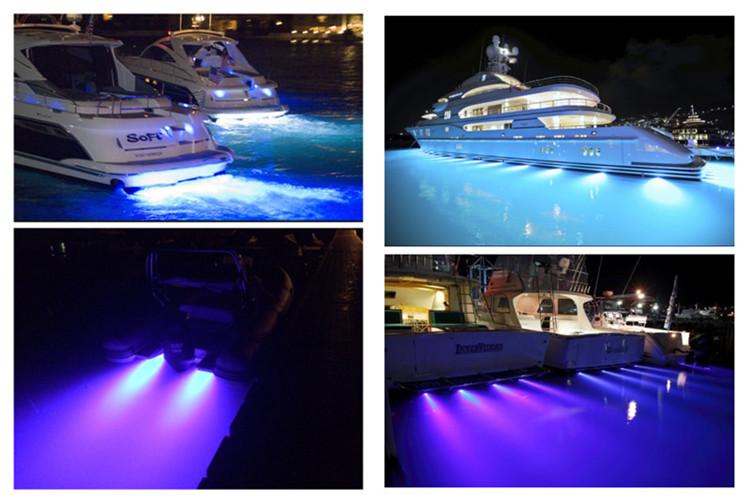 LED Drain Plug Boat Light