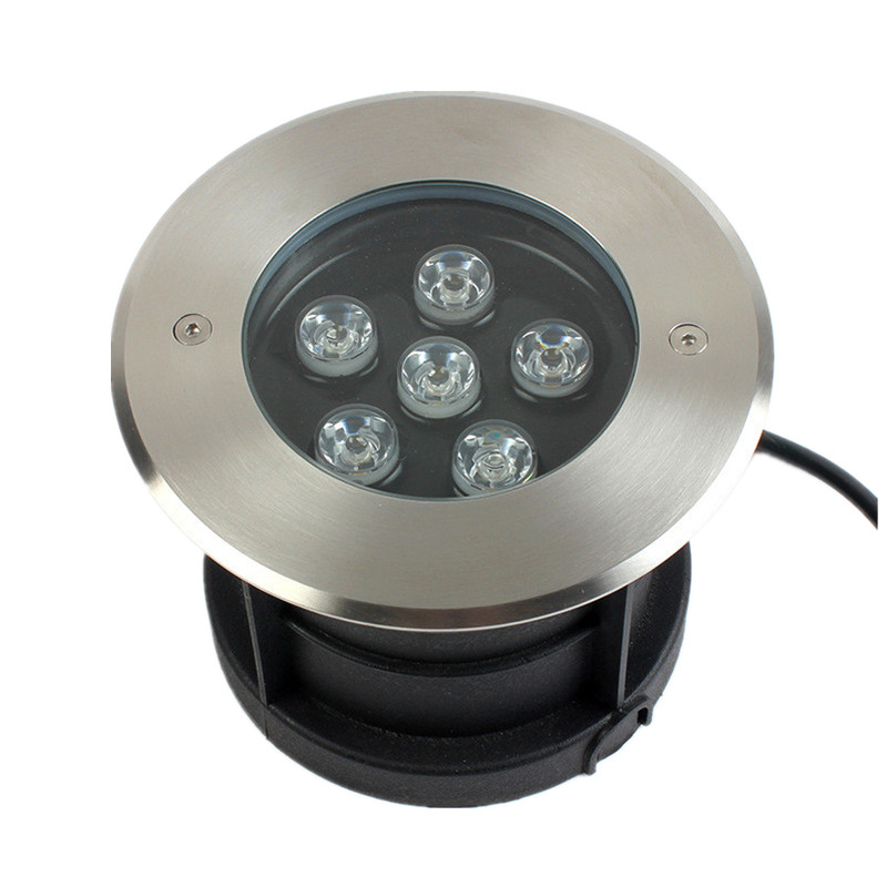 6W Round Led Buried Lamp