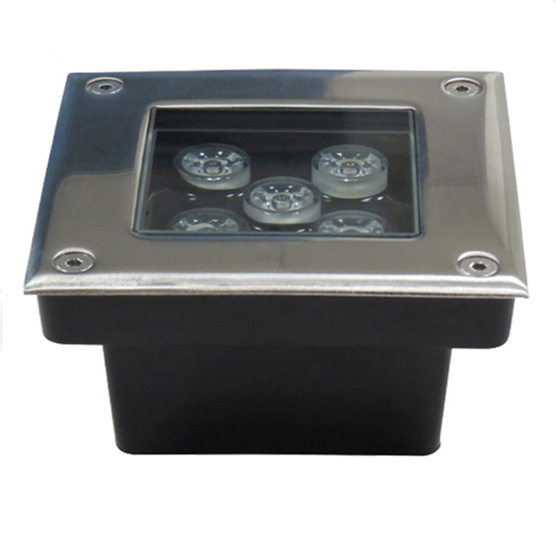 5W Square Recessed Led Buried Lamp