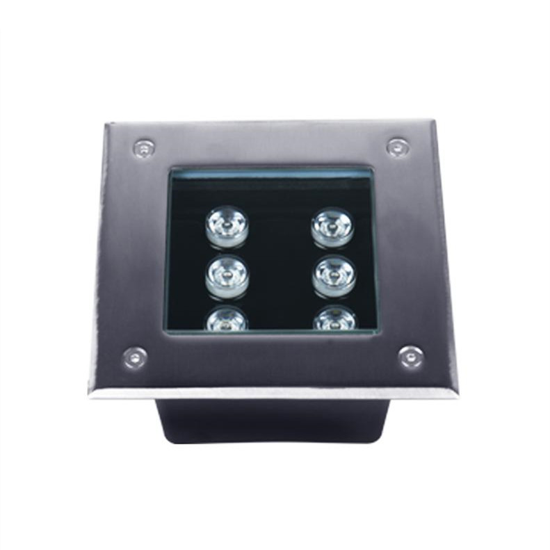 6W Square Led Underground Light