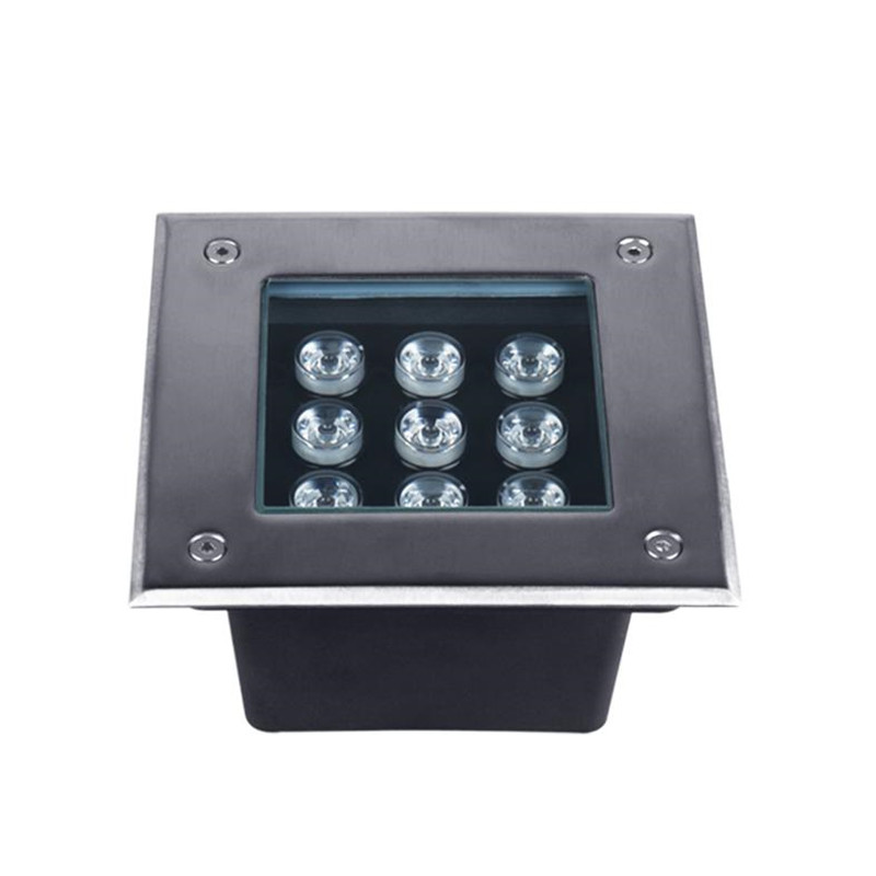 9W Square Led Underground Light
