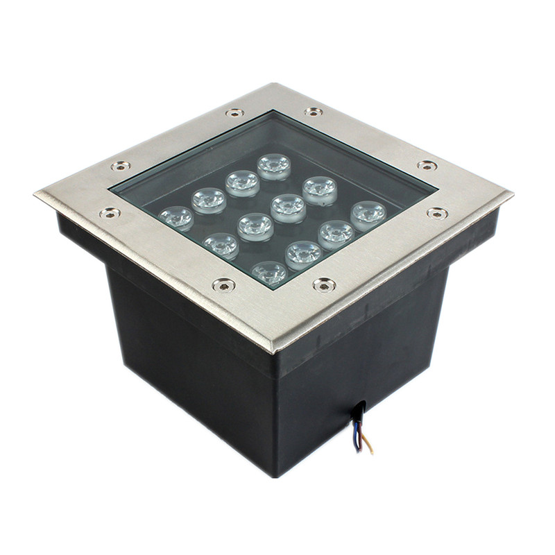 12W Square Led Buried Light